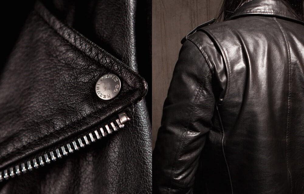 Nezumi Studios leather biker jacket clothing collection