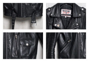 Nezumi Studios leather biker jacket clothing collection