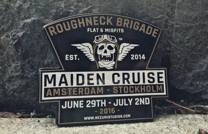 Roughneck Brigade Maiden Cruise trip, a classic Porsche club event by Nezumi Studios founder David Campo