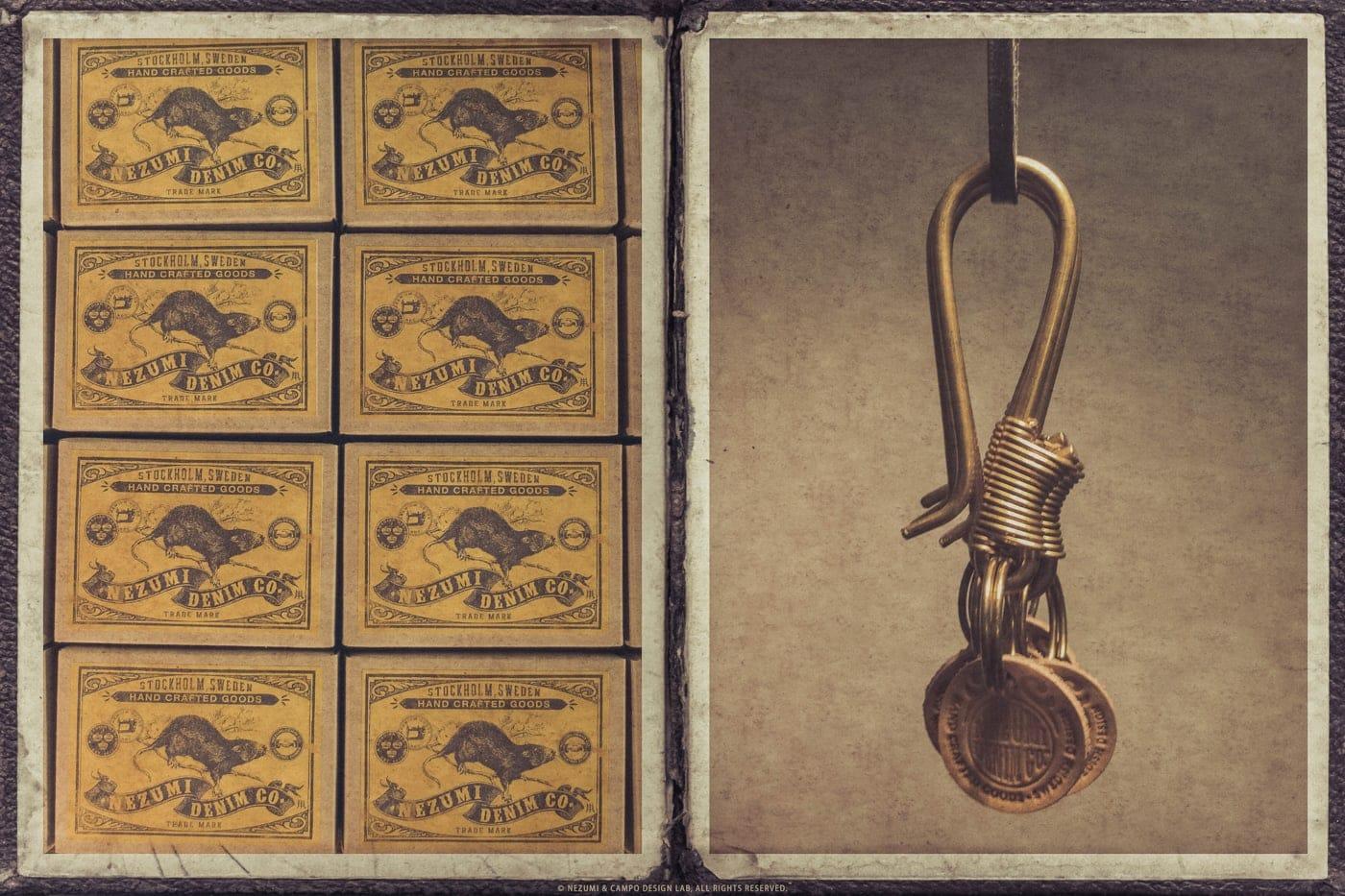 Nezumi Studios accessories key ring collection