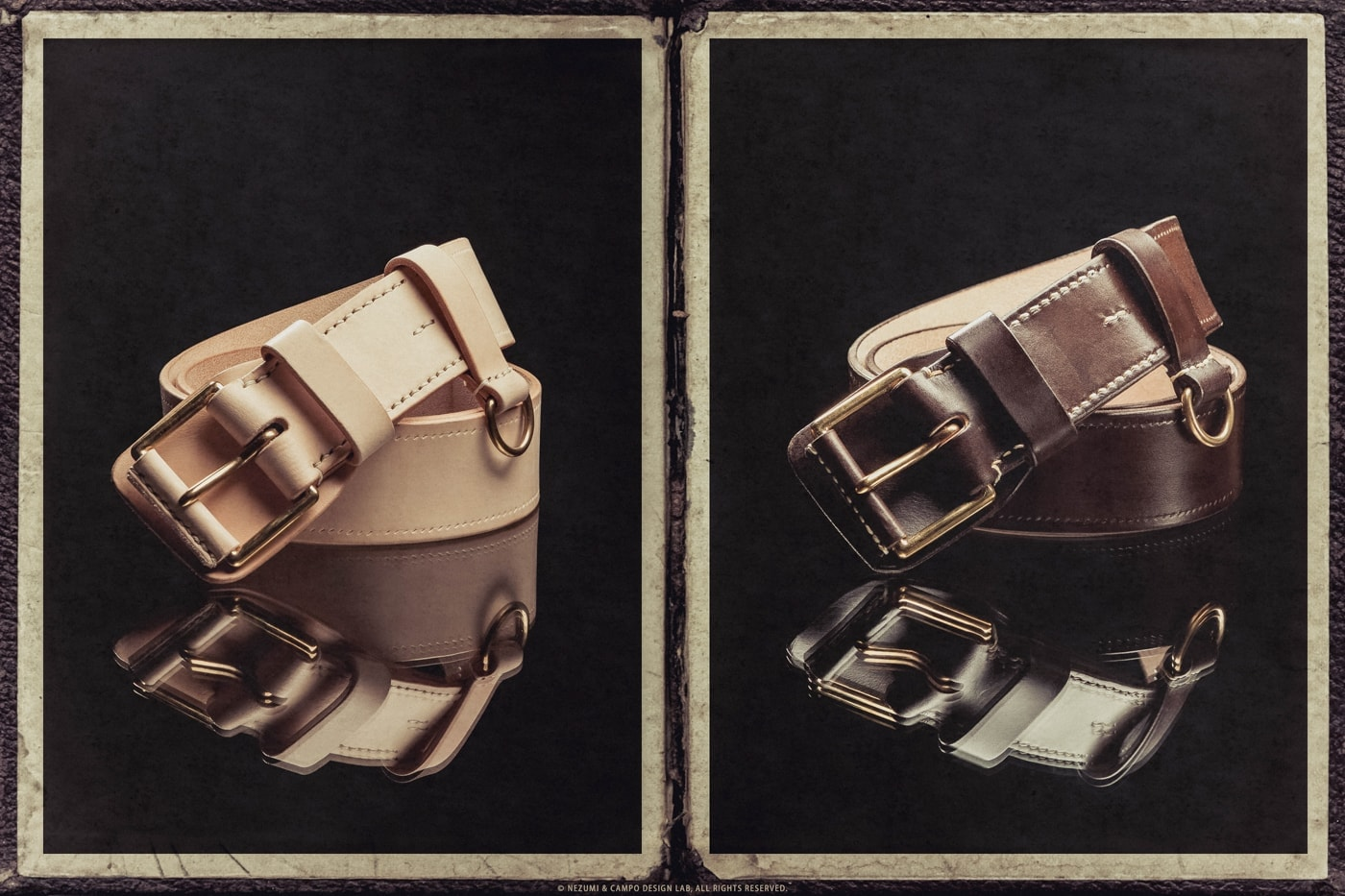 Nezumi Studios leather accessories collection