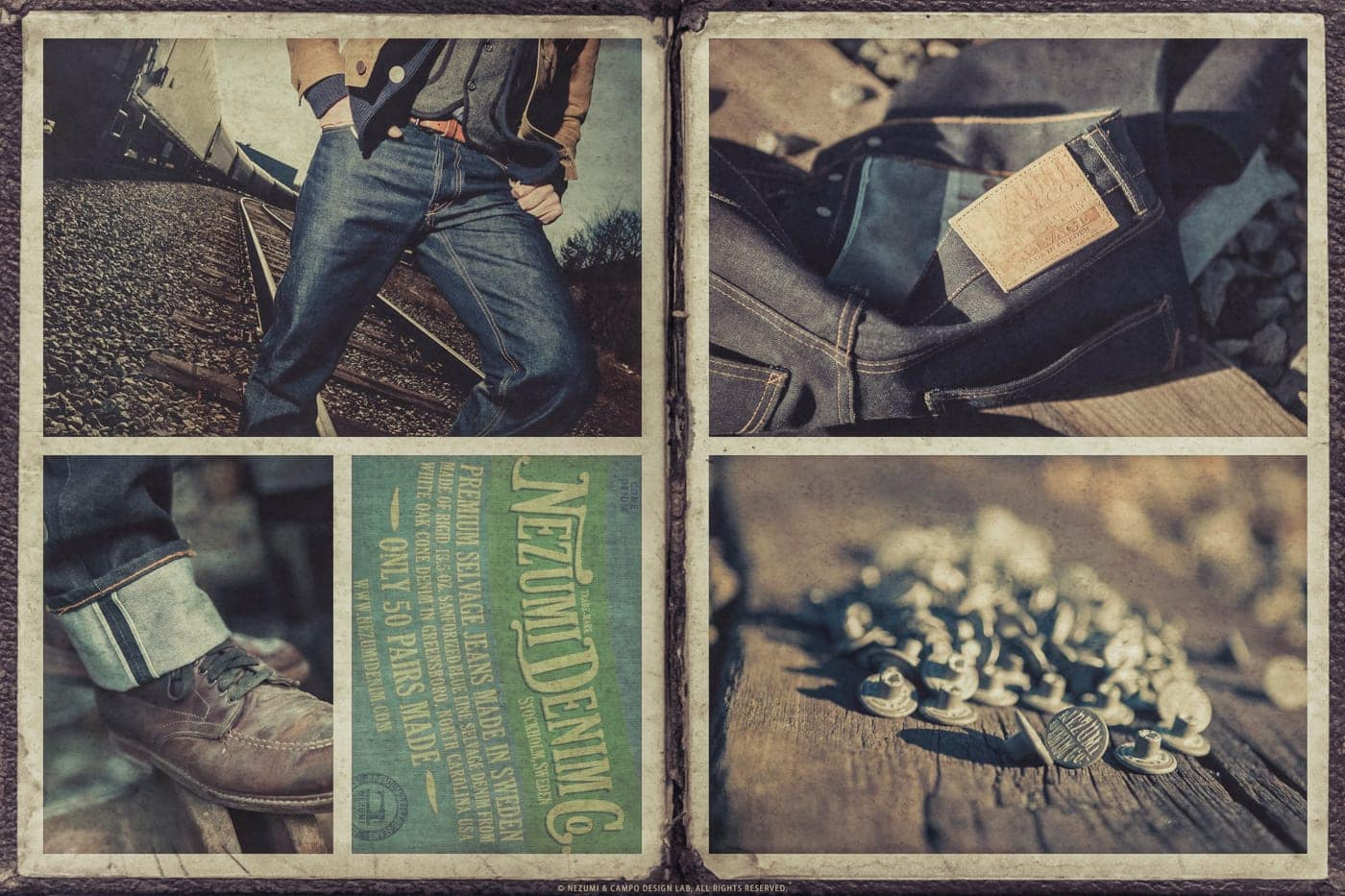 Nezumi Studios denim jeans apparel clothing collection