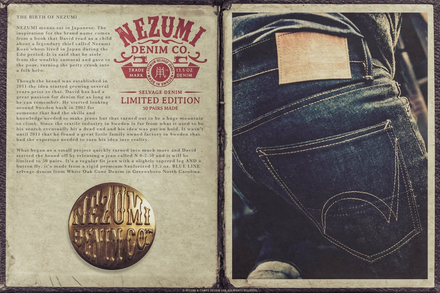 Nezumi Studios denim jeans apparel clothing collection