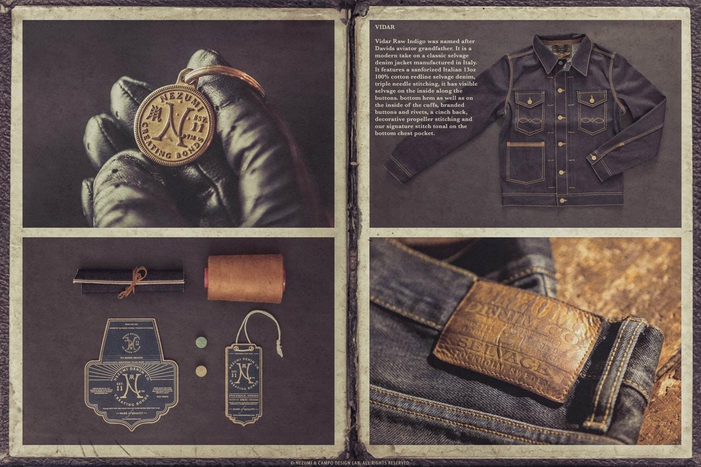 Nezumi Studios denim jeans , jackets apparel clothing collection