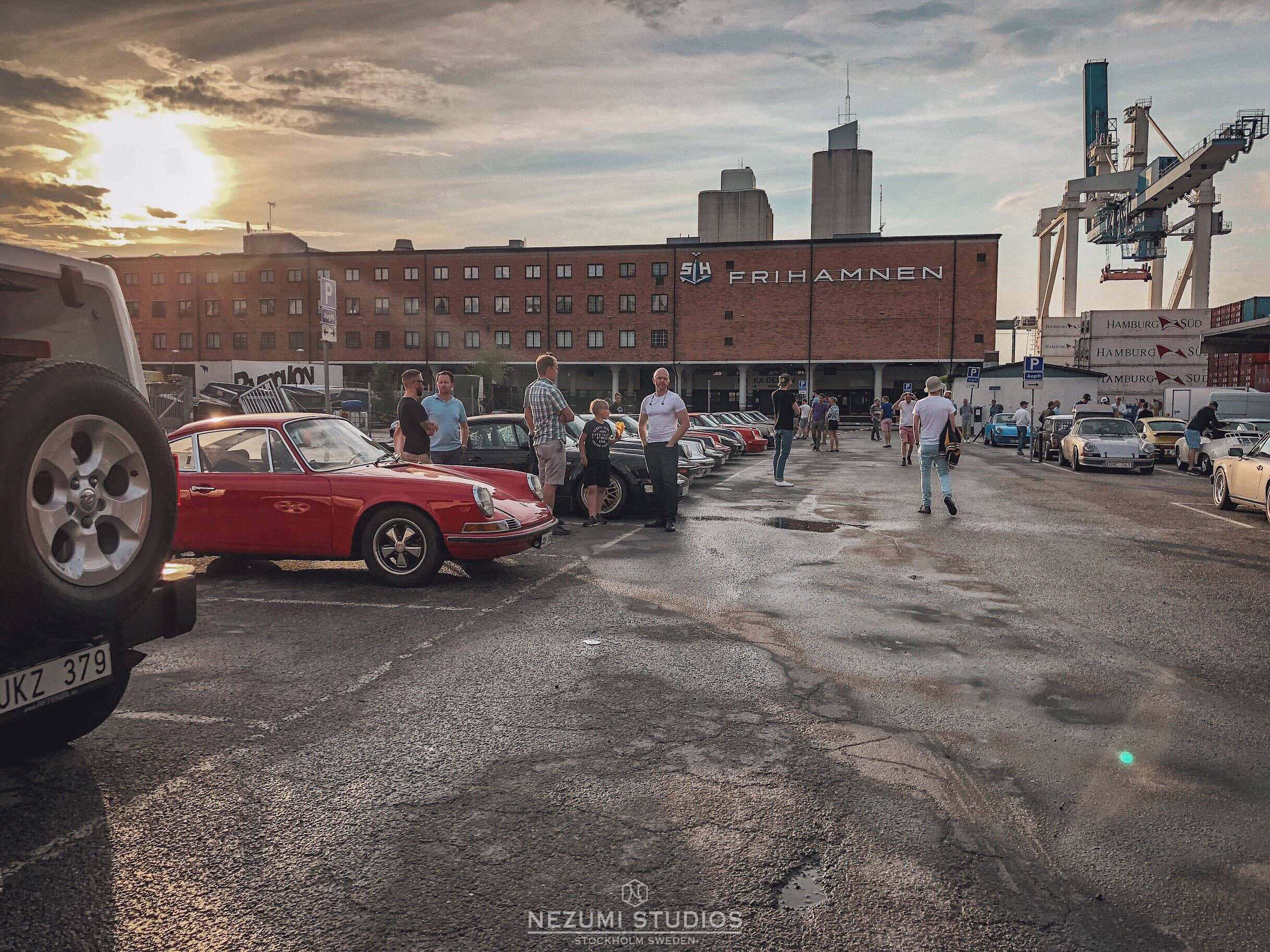 Tunnel Raiders , a and Nezumi Studios classic sportscar event , photo by founder David Campo