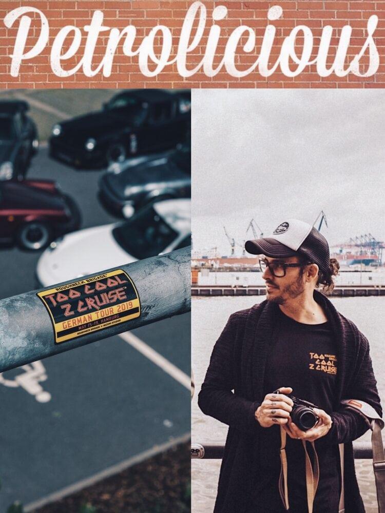 Roughneck Brigade Too Cool To Cruise trip in Petrolicious , a classic Porsche club by Nezumi Studios