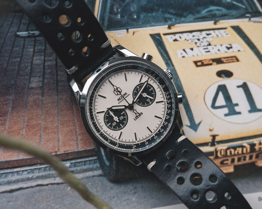 Loews Chronograph watch by Nezumi