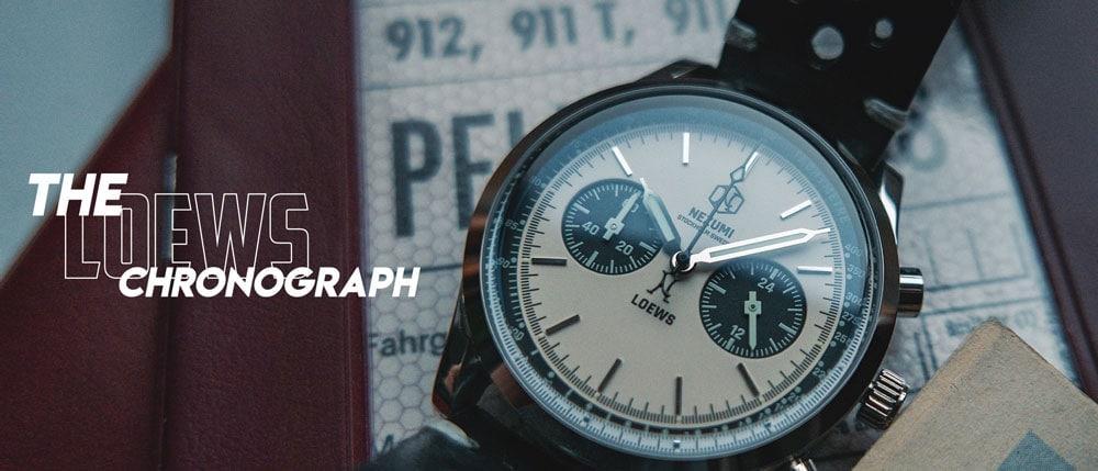 Chronograph watch by Nezumi