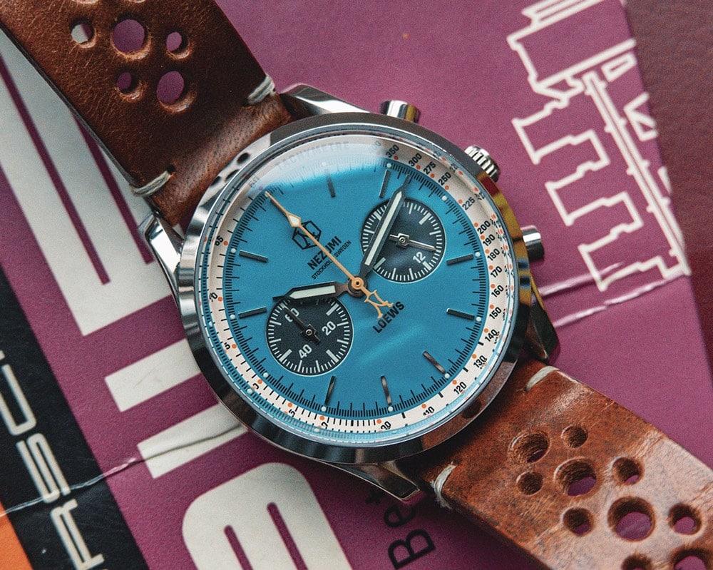 Loews Chronograph watch by Nezumi
