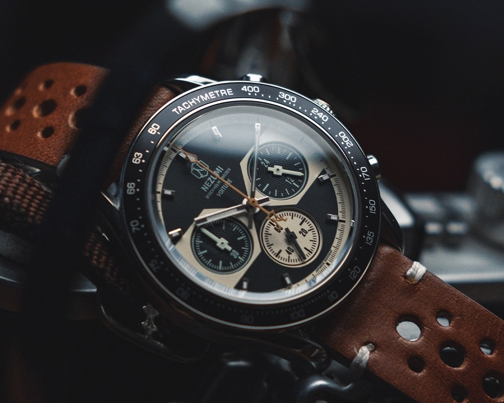 Voiture racing chronograph ref. VQ2. 201 watch by Nezumi Studios