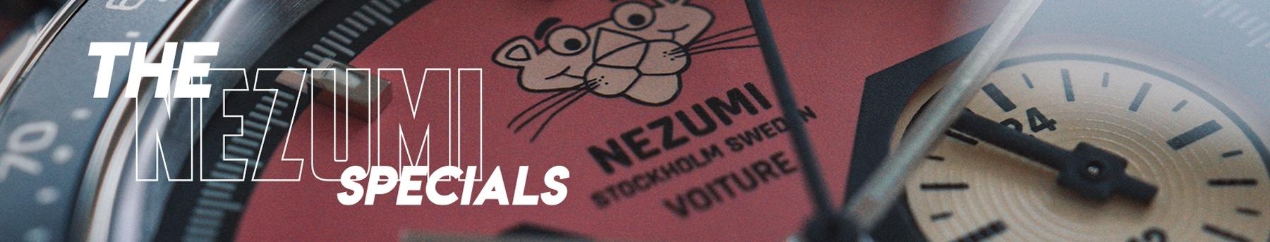Nezumi Studios Specials Watch Pink Panther Voiture racing chronograph