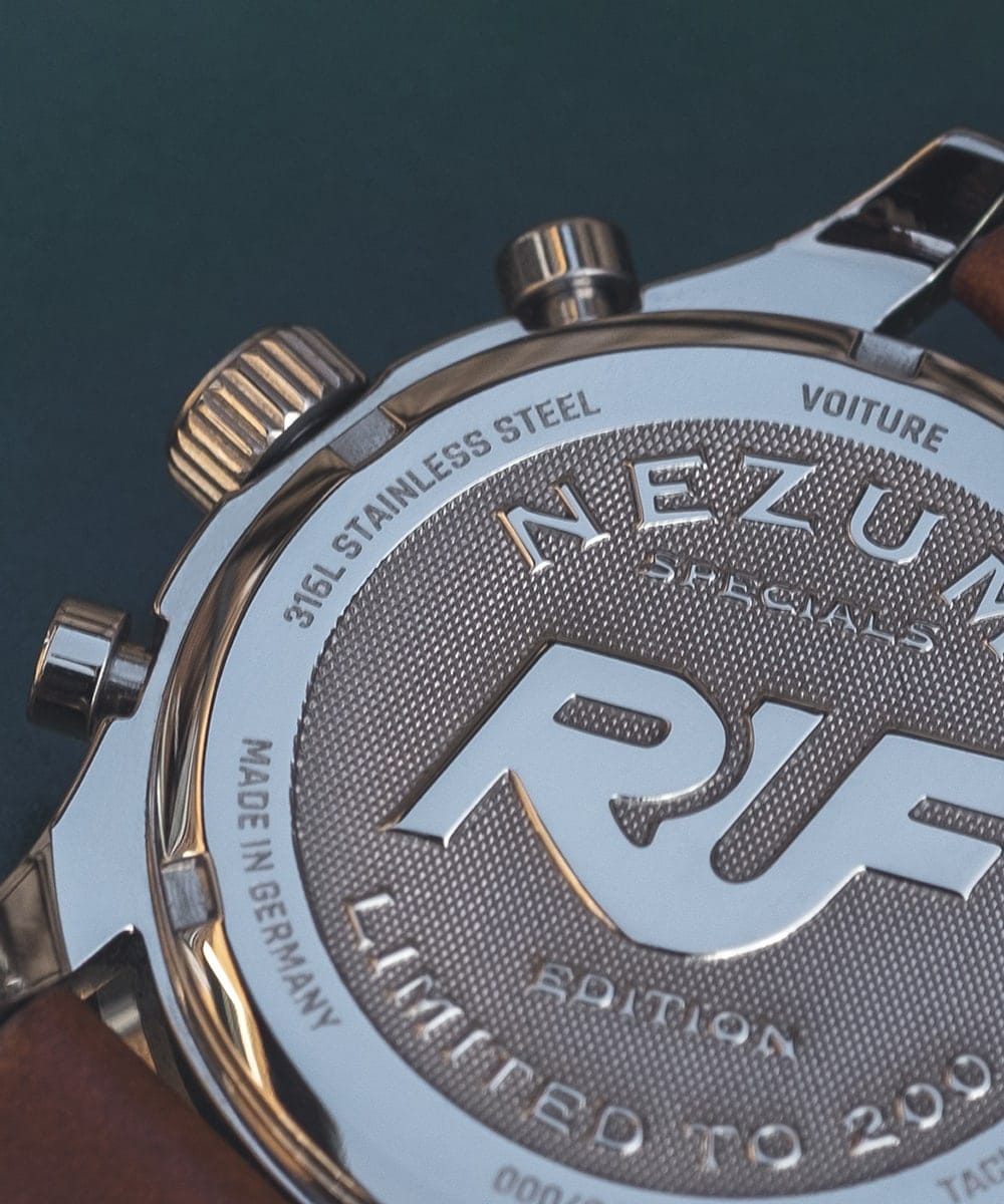 NEZUMI X RUF watch case back