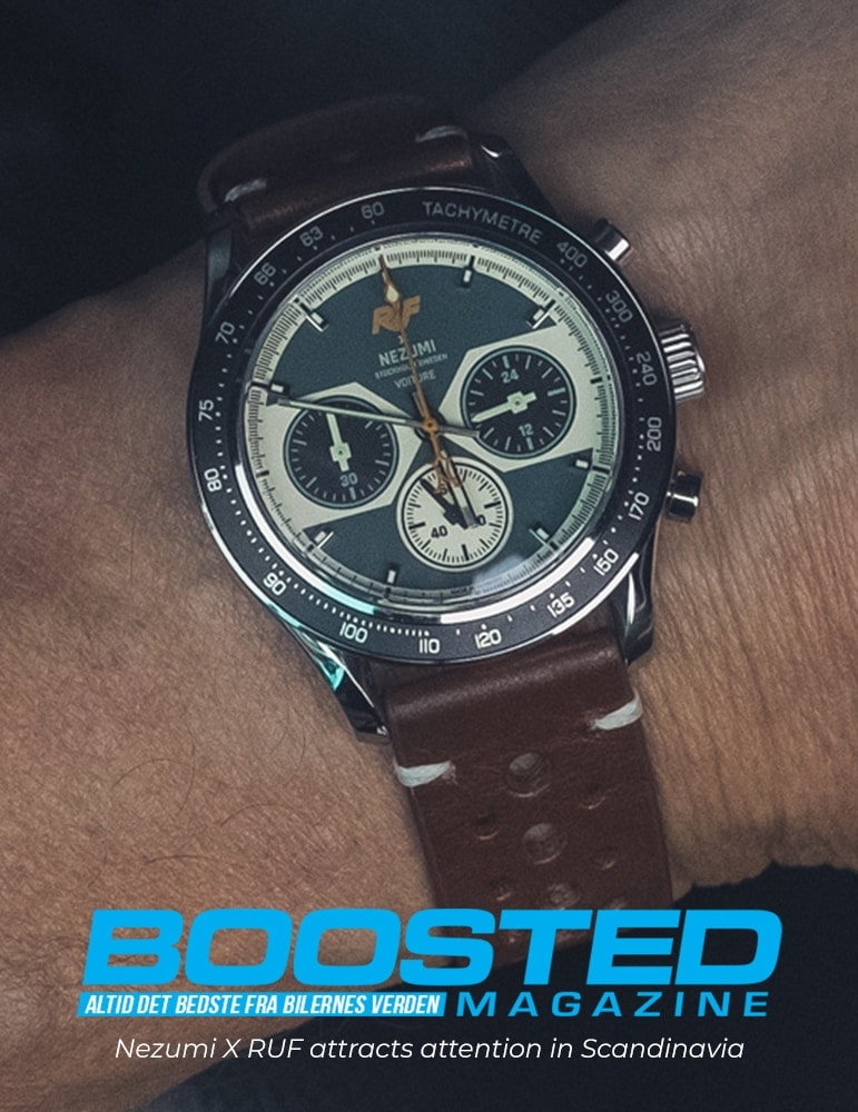 Boosted Magazine Watch review of Nezumi X RUF