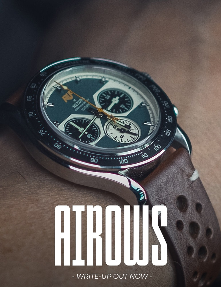 Airows review on Nezumi Voiture Chronograph