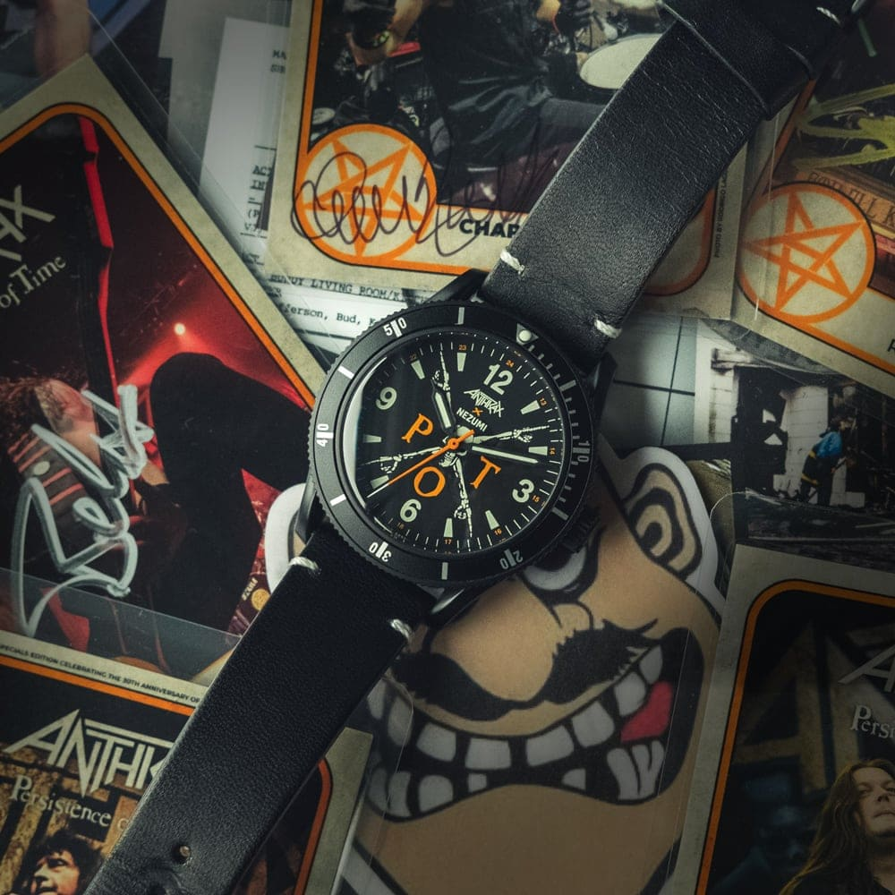 Anthrax watch specifications