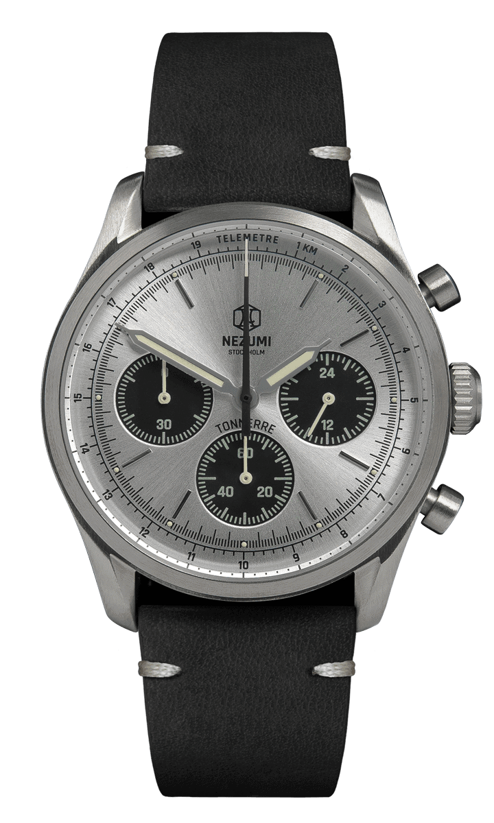 Silver Tonnerre Chronograph 38mm